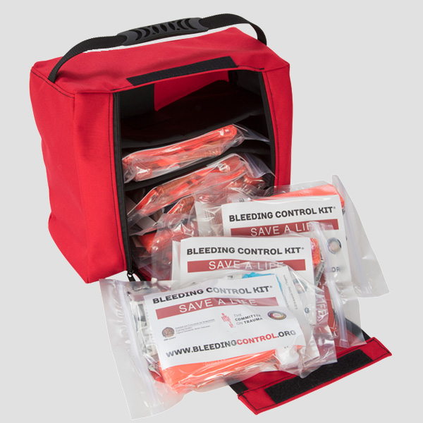 Bleeding Control Portable Kit contents