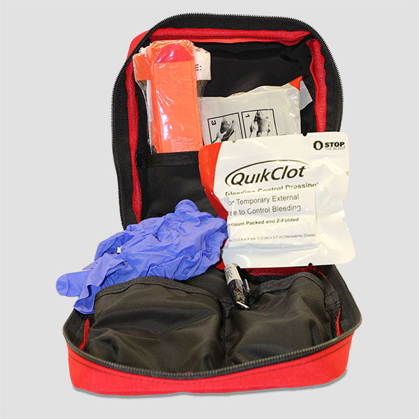 Premium Bleeding Control Kit open